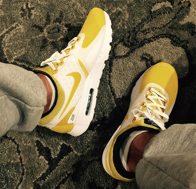 new concept be5c4 2de72 Nike Air Max Zero White Yellow Tinker