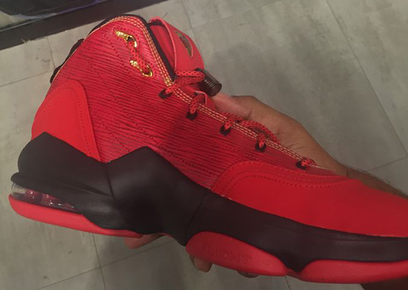 Nike Air Pippen 6 Red Black Gold
