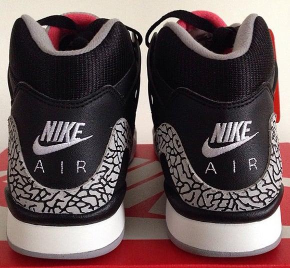 Nike Air Tech Challenge II Black Cement Custom