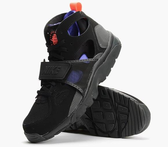 Nike Air Trainer Huarache Black Violet Orange