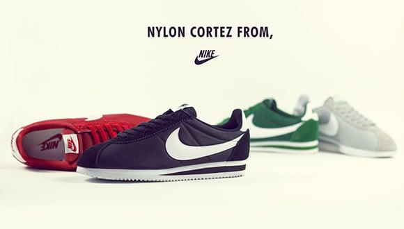 Nike Cortez Nylon Collection 2015