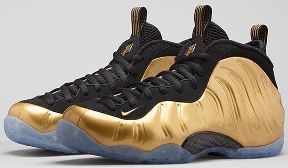 Nike Foamposite One Metallic Gold Release Delayed