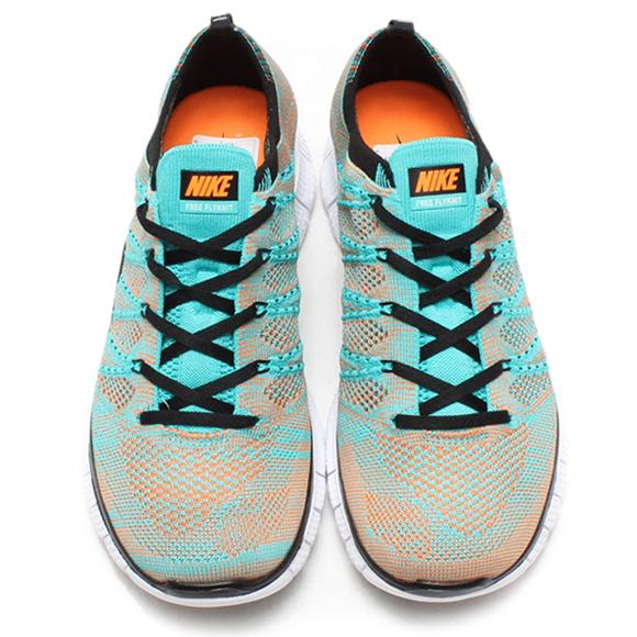 Nike Free Flyknit NSW Hyper Jade