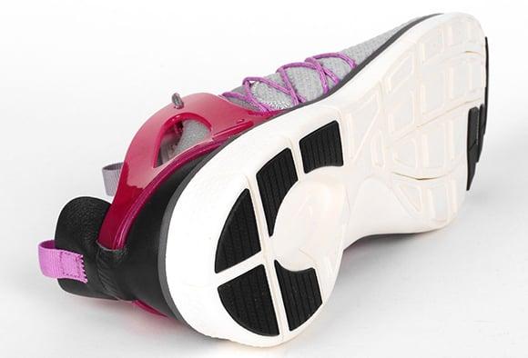 Nike Free Virtus Grey Red Fuchsia