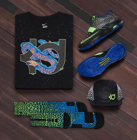 Nike KD 7 Electric Eel Release Info