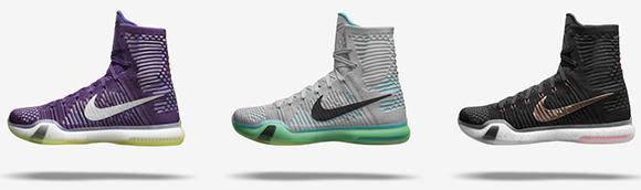0dd352123eec Nike Kobe 10 Elite - Colorways + Release Dates