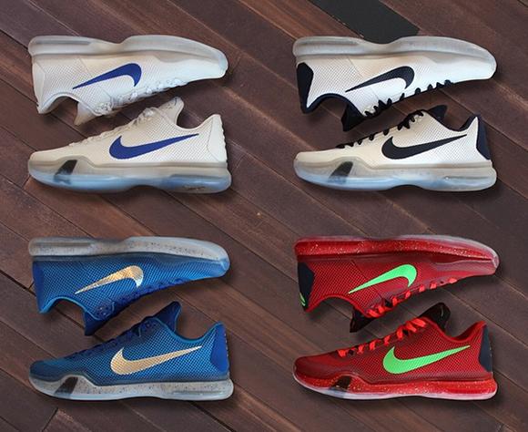 Nike Kobe 10 March Madness PEs
