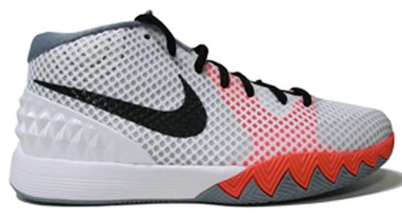 Nike Kyrie 1 GS White Black Orange