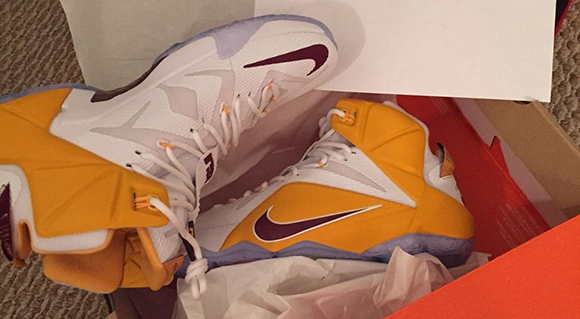Nike LeBron 12 Christ the King CTK PE