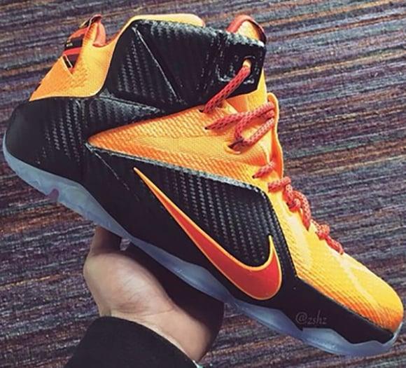 Nike LeBron 12 CLE Cleveland