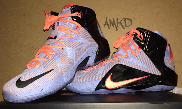 new product 67a8c b0538 Nike LeBron 12 Easter