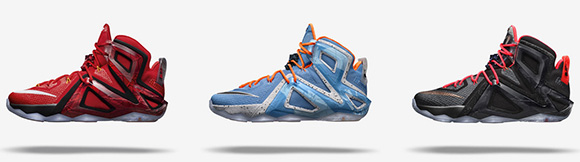 Nike LeBron 12 Elite Colorways Release Dates