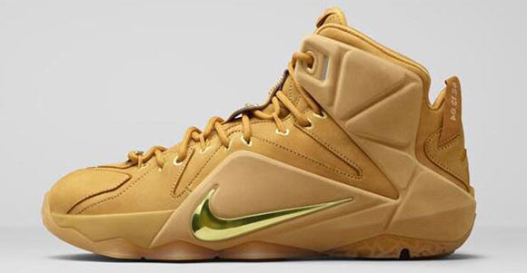 Nike LeBron 12 EXT 12th Generation Wheat Release Date