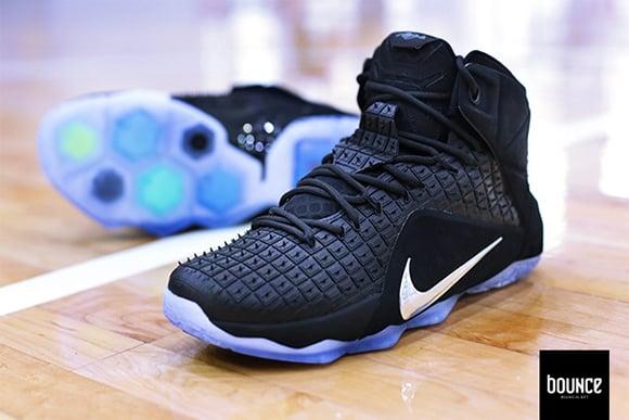 Nike LeBron 12 EXT Rubber City Black Chrome