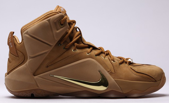 Nike LeBron 12 EXT Wheat Release Date Price