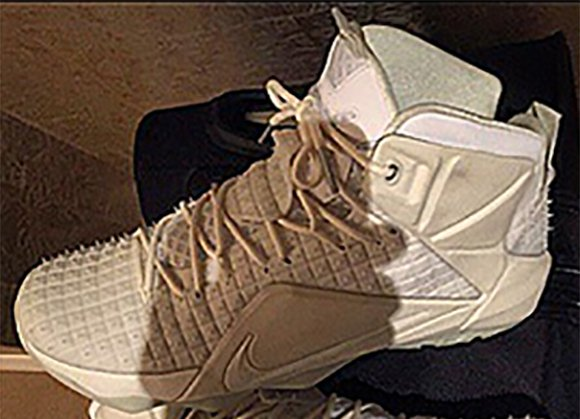 Nike LeBron 12 EXT White Rubber City