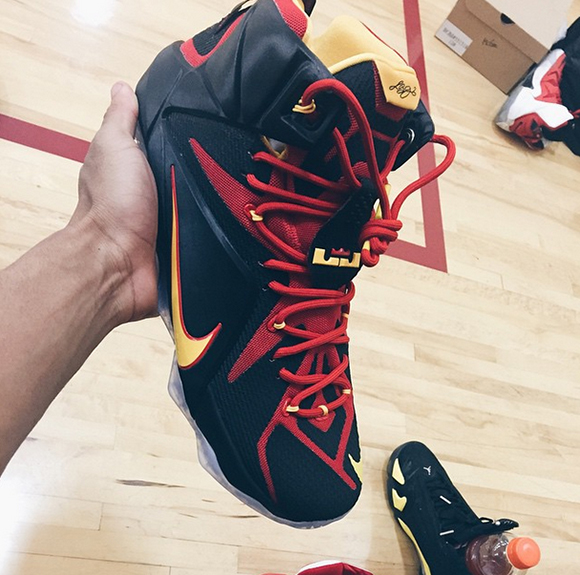Nike LeBron 12 Fairfax Playoff PE