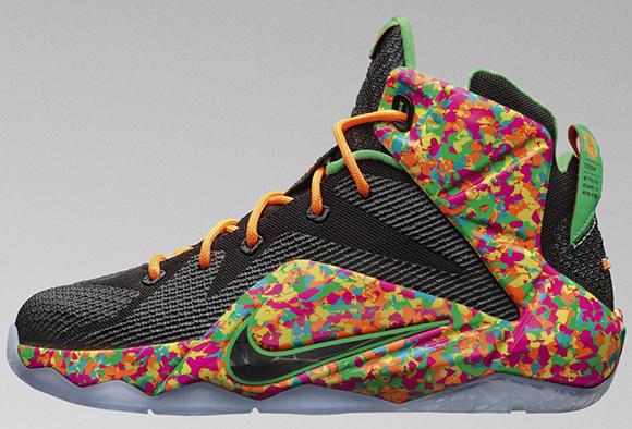 Nike LeBron 12 GS Fruity Pebbles