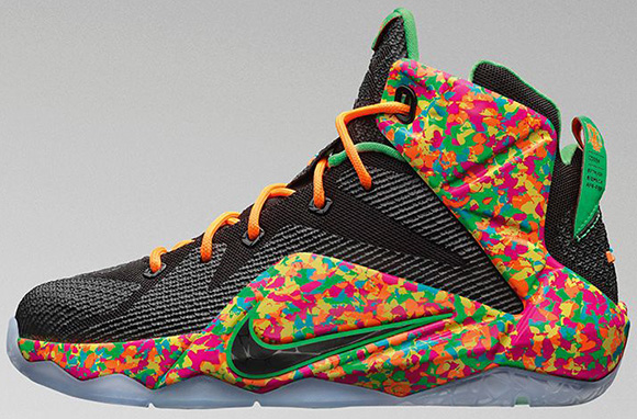 Nike LeBron 12 GS Fruity Pebbles Release Delayed