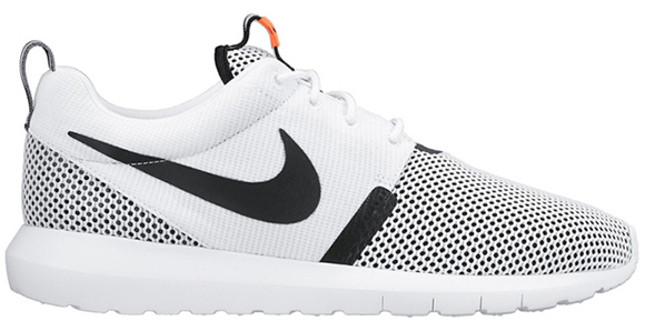 Nike Roshe Run NM Breeze White Black Hot Lava
