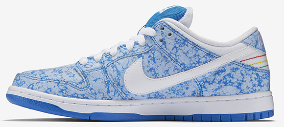 Nike SB Dunk Low Blue Marble