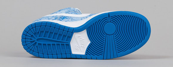 Nike SB Dunk Low Blue Marble 420