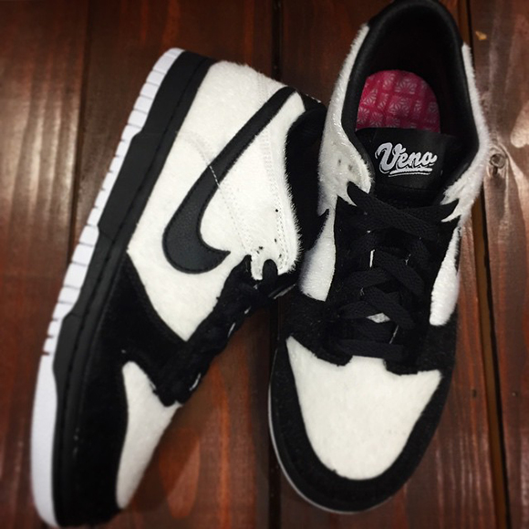 new arrival f08e9 93076 Nike SB Dunk Low 'Ueno' (Panda) | SneakerFiles