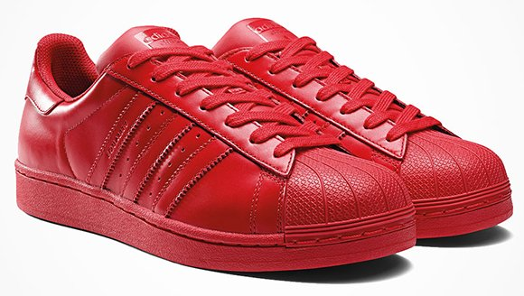adidas superstar colors rosse