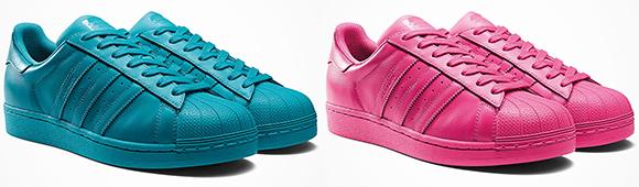 Pharrell adidas Superstar Supercolor