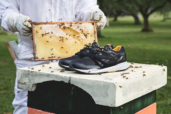 SneakersNStuff Reebok Ventilator Bees Honey