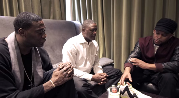 Sway, Dominique Wilkins Shawn Kemp Talk Reebok Pump Kamikaze II