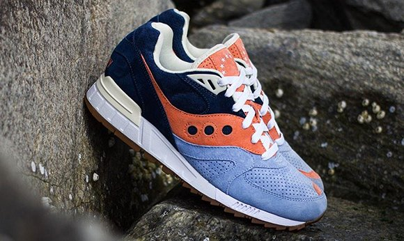 Ubiq Saucony Shadow Master Atlantic Tide