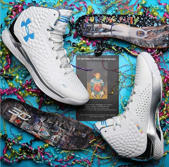 Under Armour Curry One Splash Party Birthday Sneakerfiles