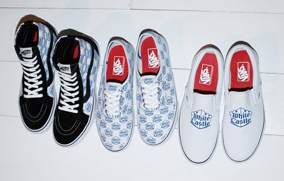 White Castle Supreme Vans 2015 Collection