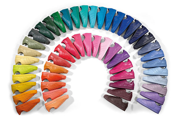 Win all 50 Pairs Pharrell adidas Superstar Supercolor