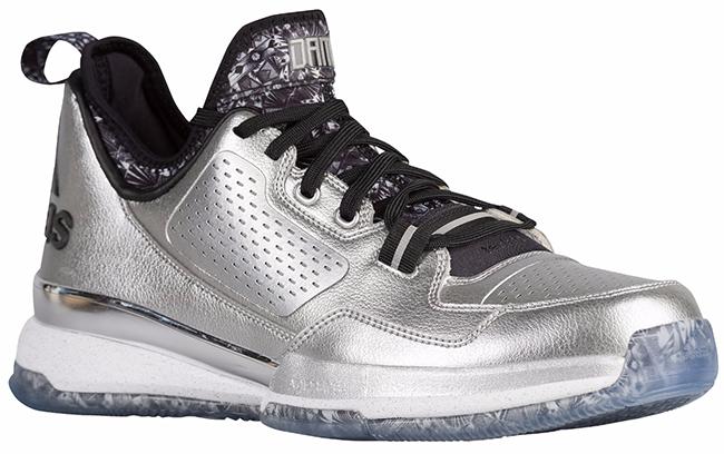 purchase cheap bb7ef 3d8d1 adidas D Lillard 1 Gauntlet Silver