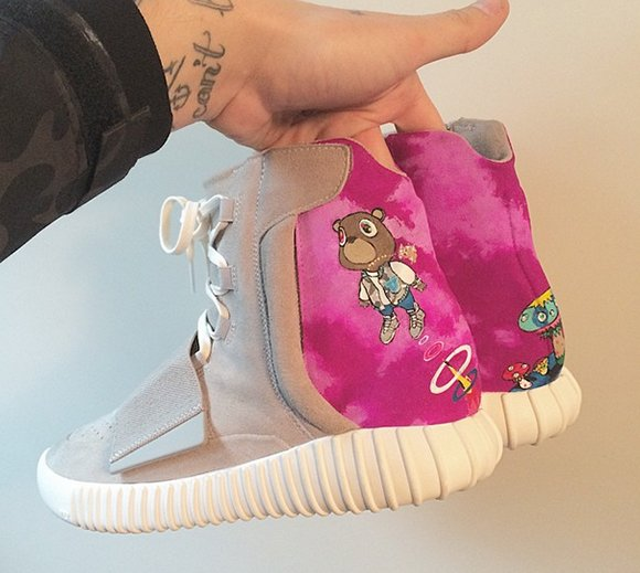 adidas Yeezy 750 Boost Graduation Custom