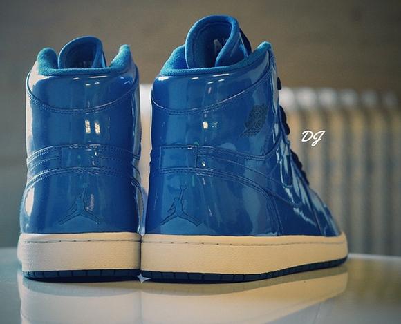 Air Jordan 1 Blue Patent Leather Sample