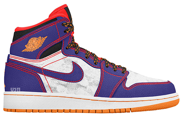 Air Jordan 1 GS Tasmanian Devil