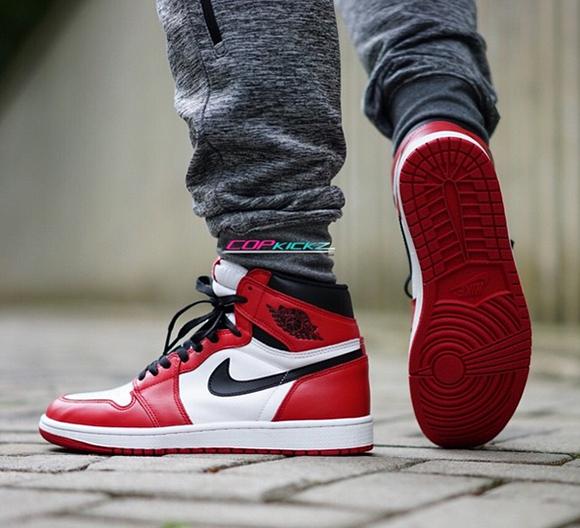 super specials buy online san francisco On Foot: Air Jordan 1 Retro High OG 'Chicago' | SneakerFiles