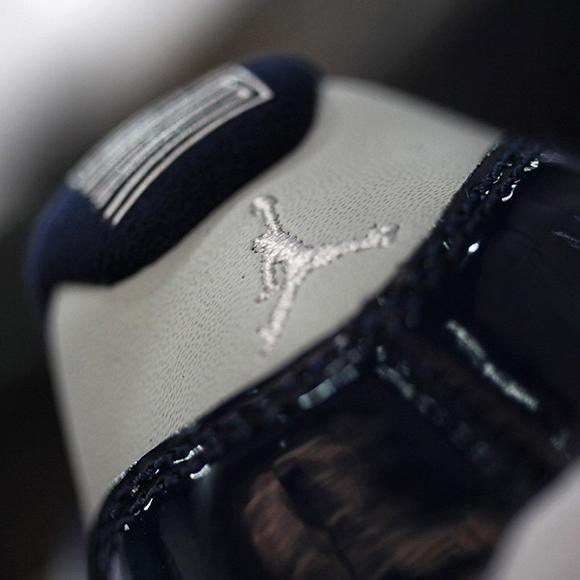 Air Jordan 11 Low Georgetown Releasing This Weekend