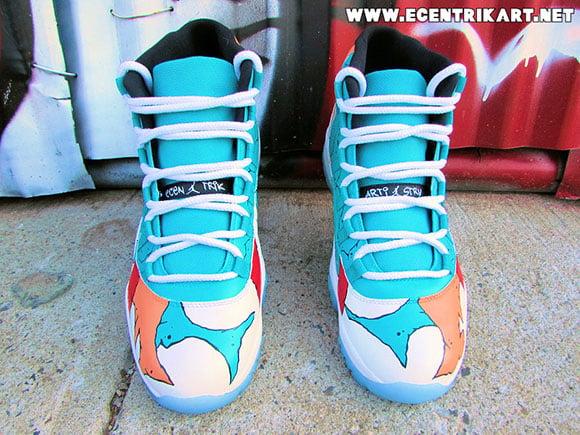 Air Jordan 11 Street Art Custom Ecentrik Artistry