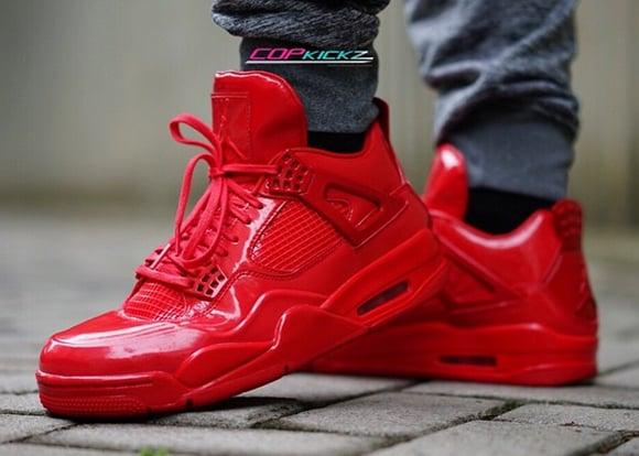 Air Jordan 11 Lab 4 Red