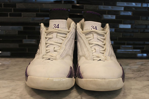 Air Jordan 14 Ray Allen Milwaukee Bucks PE