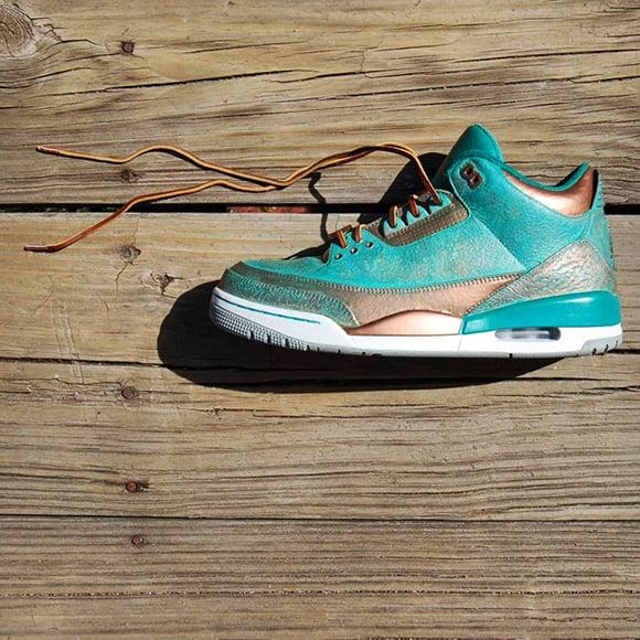 Air Jordan 3 Custom Pa3na