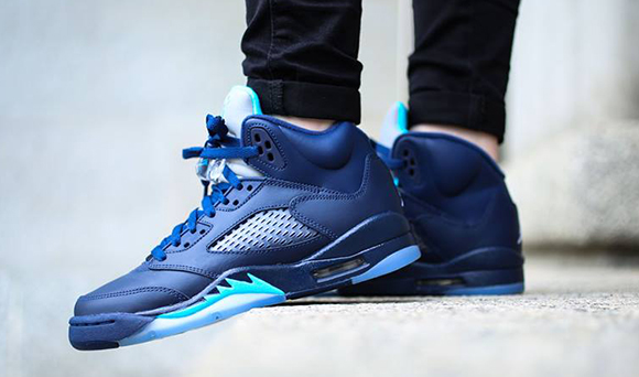 Air Jordan 5  Hornets  - On Foot  b282a22c4
