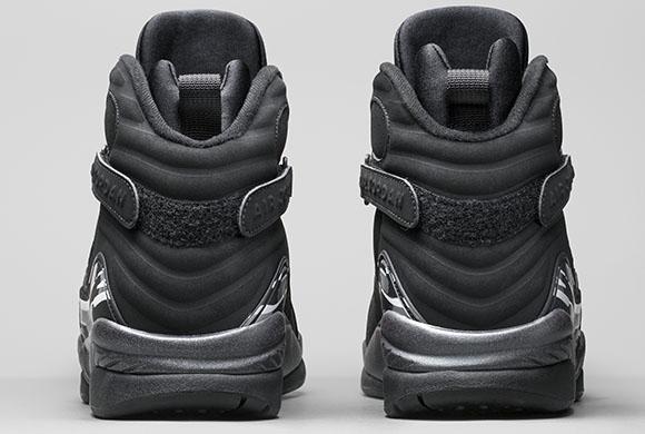 Air Jordan 8 Black Chrome 2015 Release Date