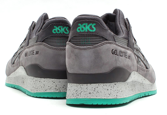 Asics Gel Lyte III Grey Turquoise