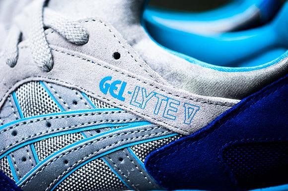 Asics Gel Lyte V Dark Blue Light Grey Teal Sneakerfiles