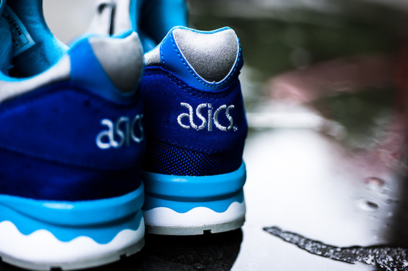 Asics Gel Lyte V Dark Blue Light Grey Teal